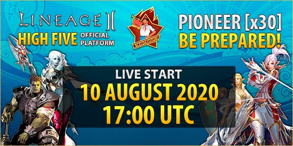 Summer server Pioneer [x30] - start on 10 August 2020!, l2 clan ally crest size, l2 high five interface