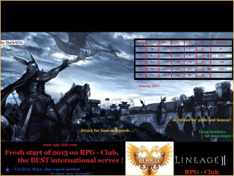 New Year Contest 2015 - Entries - 1st category, l2e-global, lineage 2 revolution guide