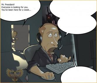 """Presidential game"" - fun comics contest!, lineage 2 razas y clases, l2 phoenix"