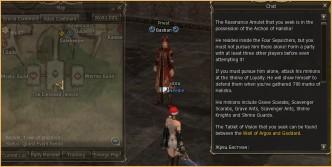 """Saga of the Cardinal"", lineage sites, lineage 3"