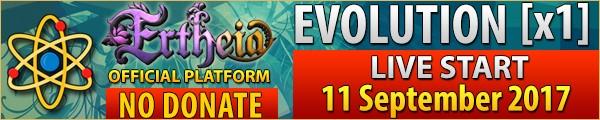 Evolution [x1] Ertheia - PR campaign, lineage 2 pvp server epilogue, lineage 2 50 lvl exp