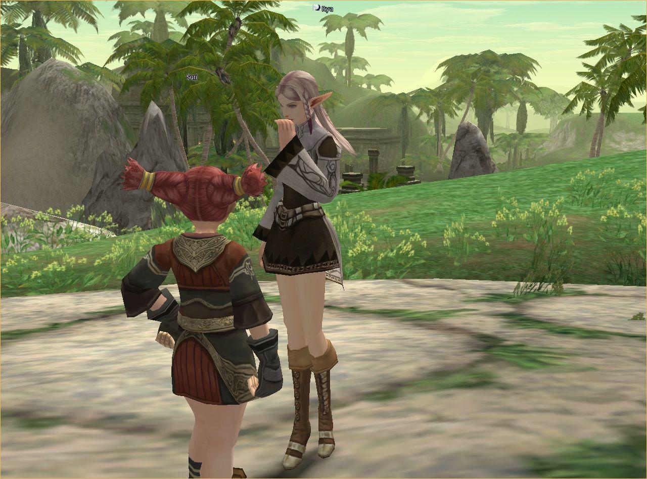 Lineage 2 Screenshot: Видео игра