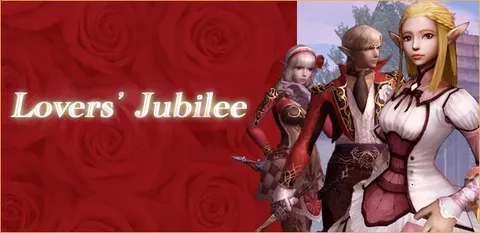 Event: Lovers' Jubilee, lineage 2 3d models, lineage 2 high five