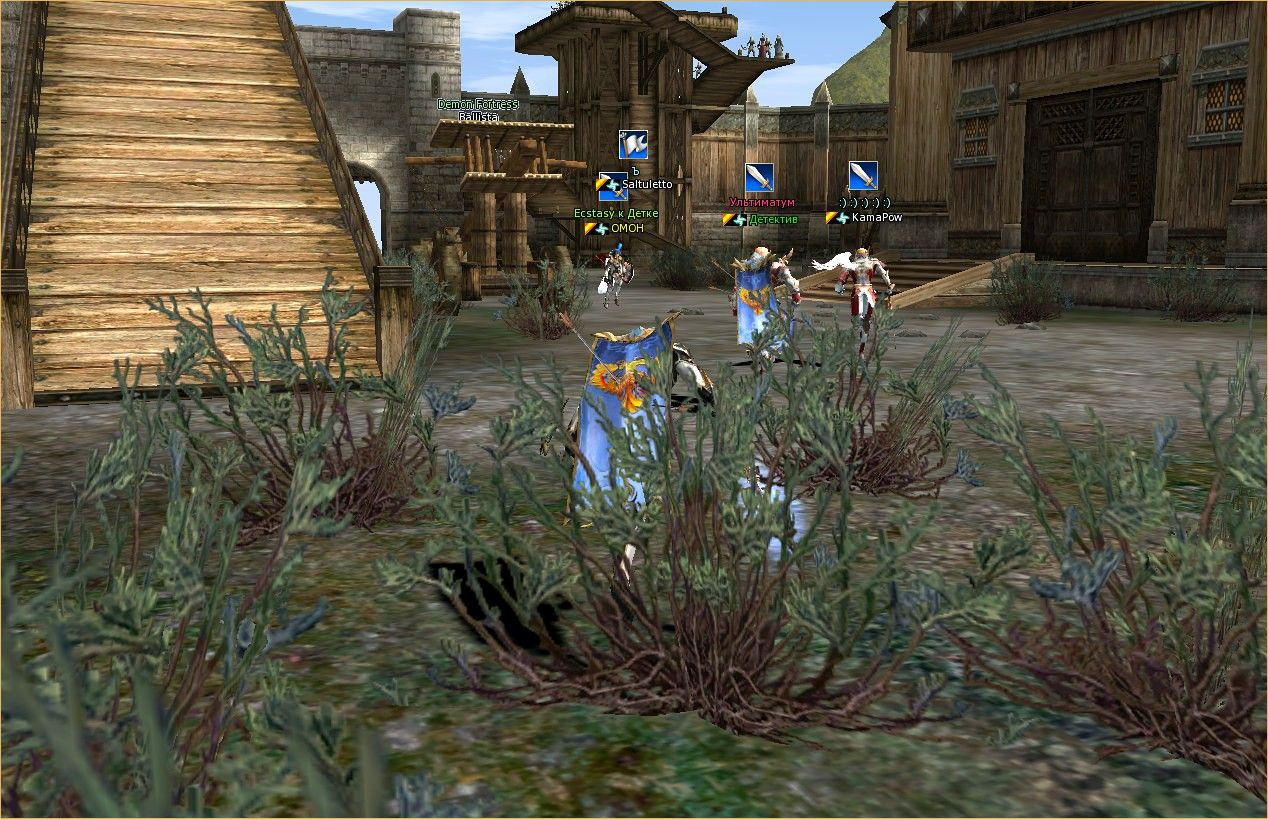 Lineage 2 Screenshot: игра Л2