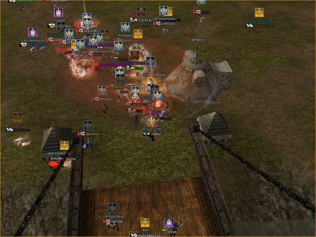 Lineage 2 Screenshot: Кланы Л2