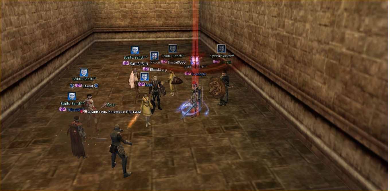 Lineage 2 Screenshot: анонсы серверов л2 игра