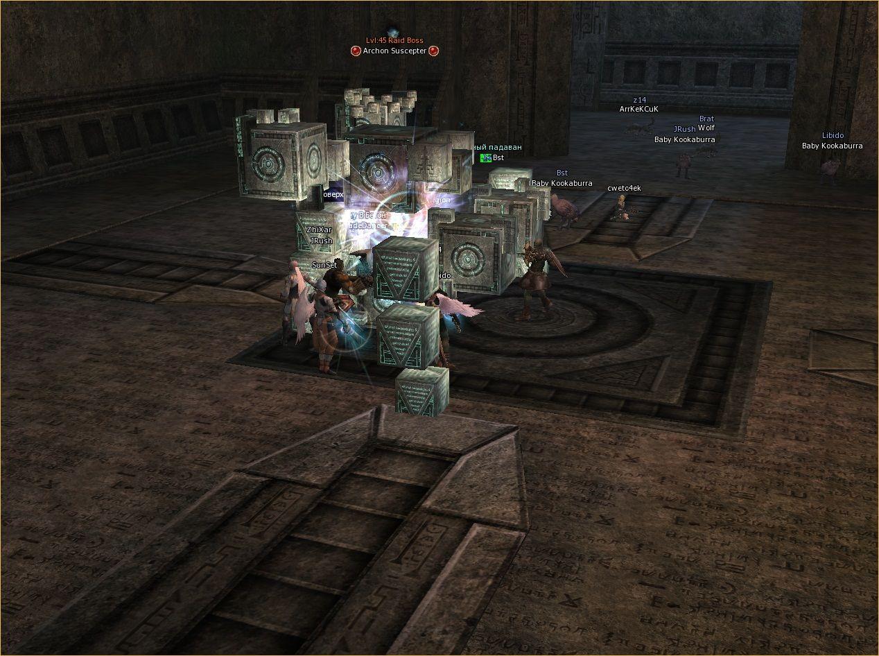 Lineage 2 Screenshot: Кланы л2 сервера дополнениями