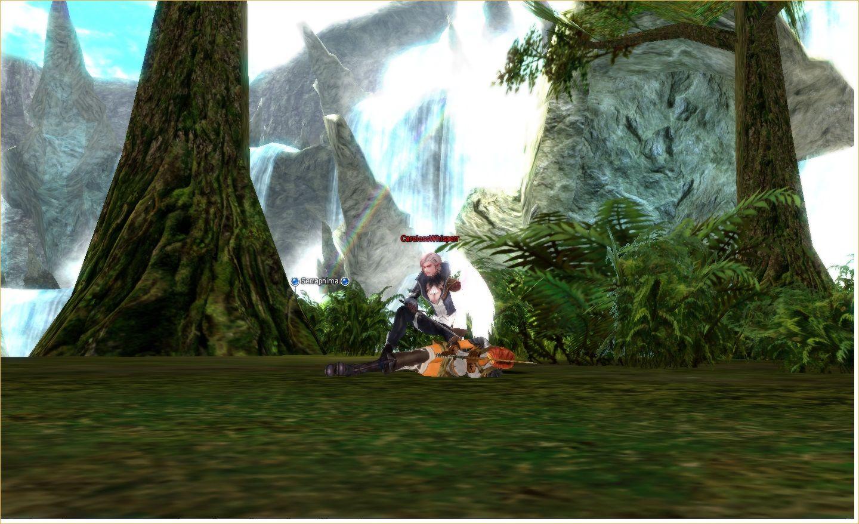 Lineage 2 Screenshot: game moon land